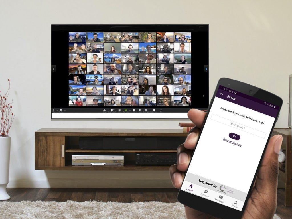 Eventsador Mobile App Virtual